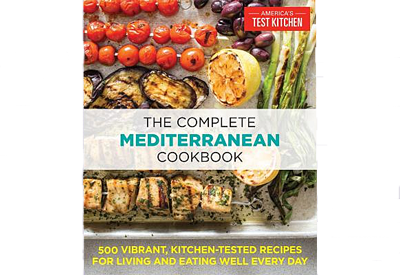 Book jacket for America's Test Kitchen Complete Mediterranean Cookbook