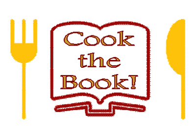 Cook the Book logo yellow