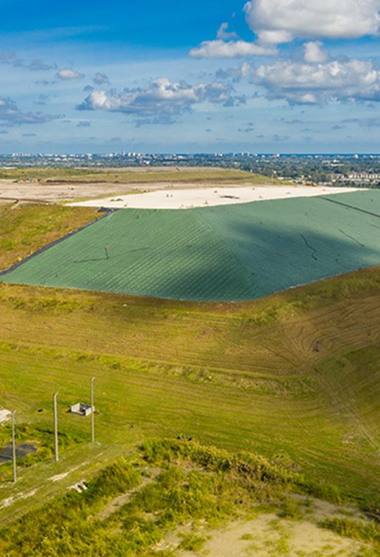 View of the Landfill