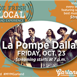 Made Fresh and Local_La Pompe Dallas_Oct 23_three guys and one woman in jazz band