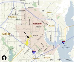 Garland Texas Map >> South Garland Avenue Garland Tx
