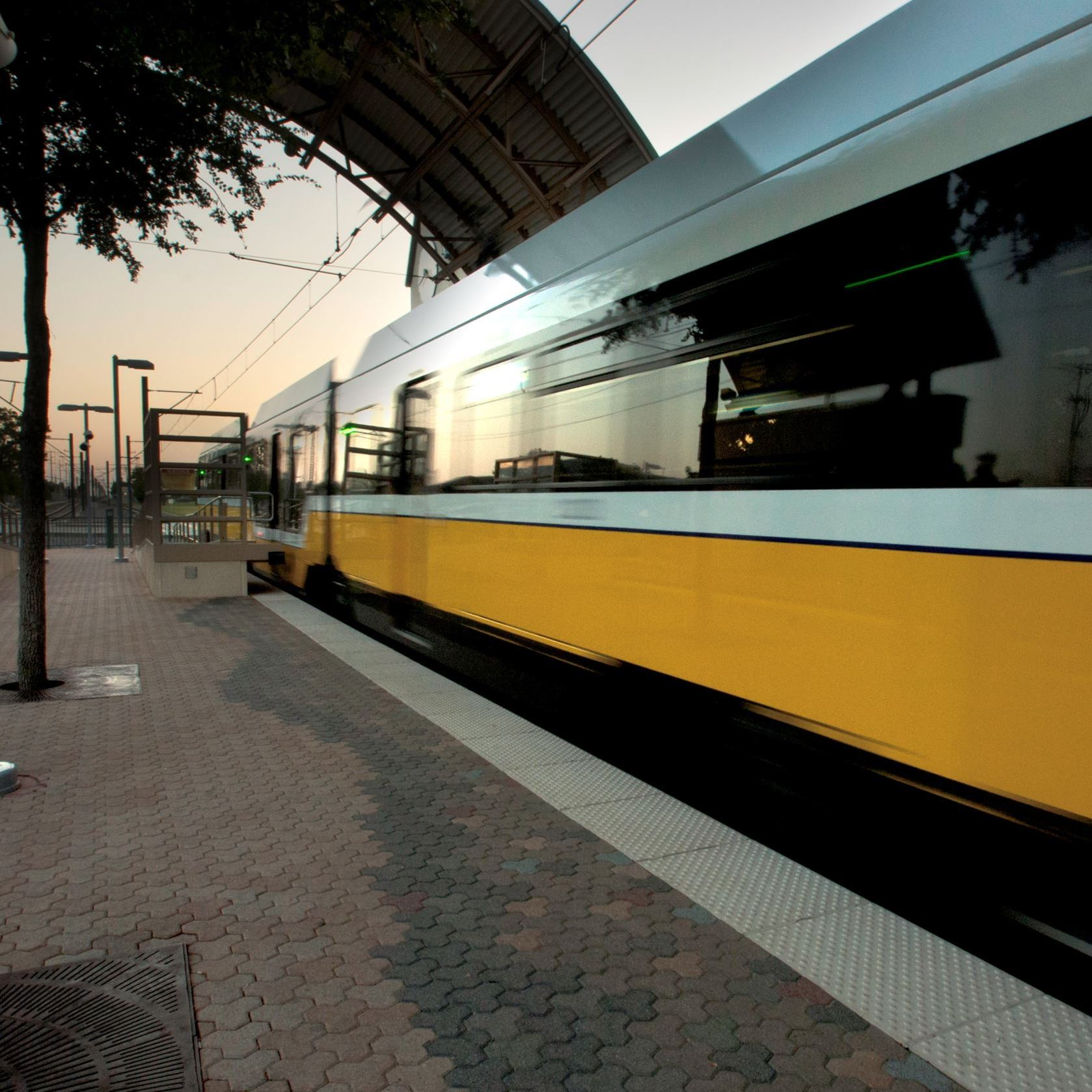 Downtown Garland DART station Opens in new window